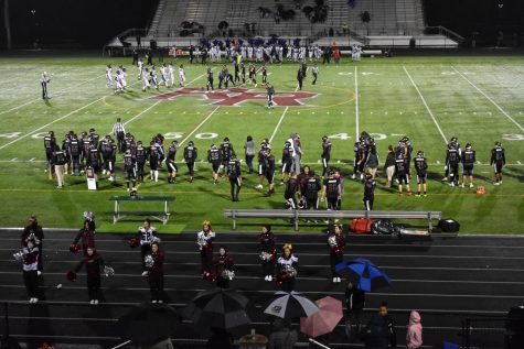 Rock Ridge Senior NIght game VS. Pot Falls