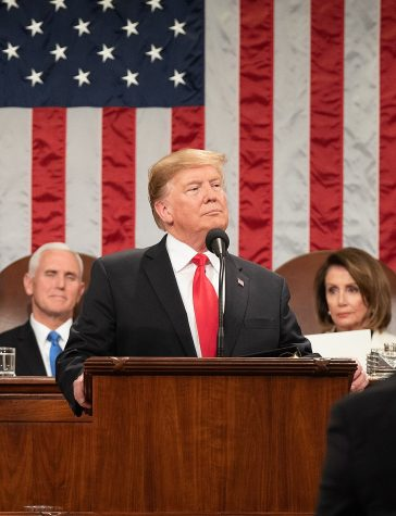 President Donald Trump delivers the State of the Union address at the U.S. Capitol on Feb. 5, 2019. (White House/Shaelah Craighead)