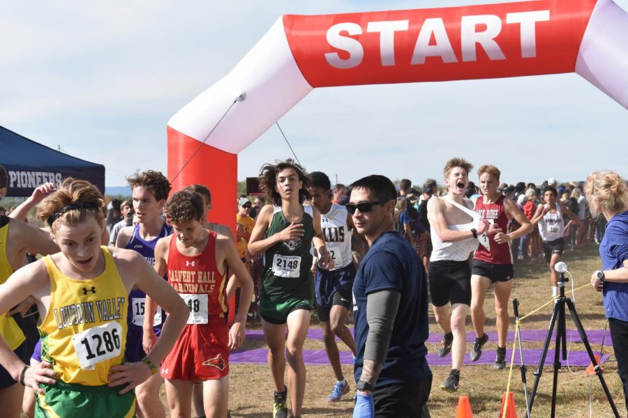 Cross Country's Inspiration to Push Forward