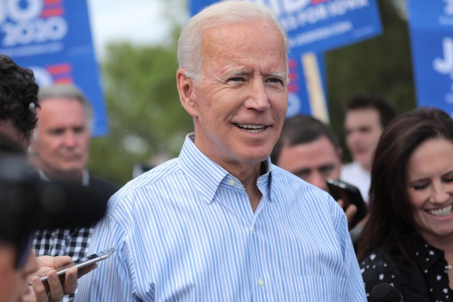 Joe+Biden+at+a+march+in+Clear+Lake%2C+Iowa+in+Aug.+2019.+