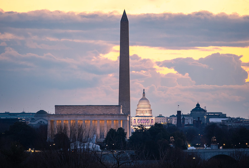 The+U.S.+Capitol+on+the+morning+of+President+Biden%27s+Inauguration.