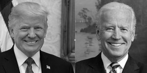 Both presidential candidates, Donald Trump and Joe Biden, participated in virtual Town Halls instead of an in-person debate.