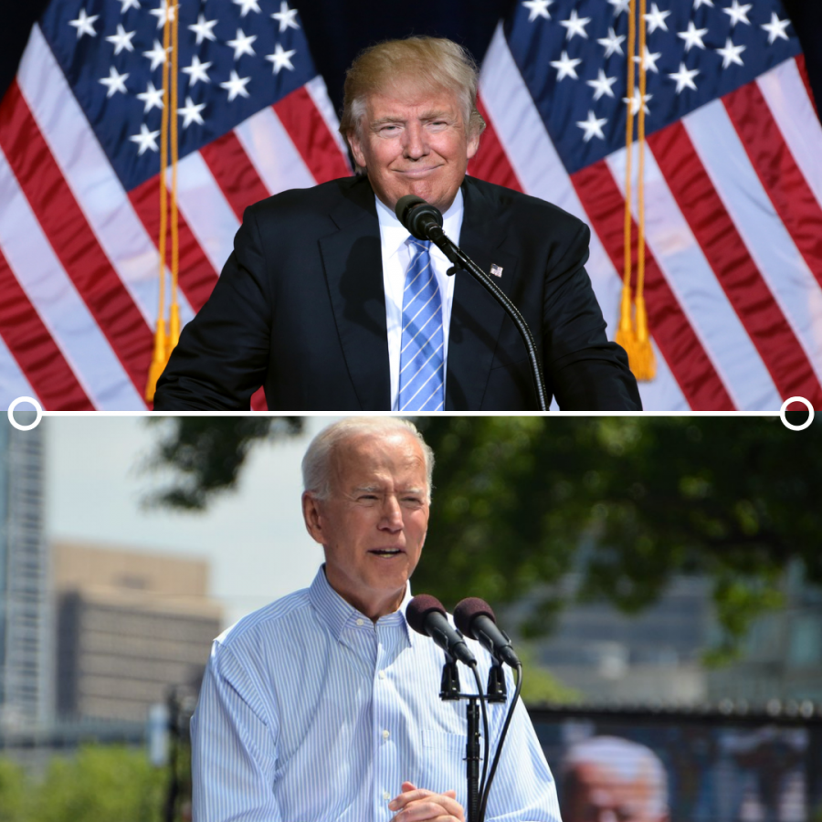 Former Vice President Joe Biden and President Donald Trump battle it out on the debate stage in Nashville, Tenn. at the final presidential debate.